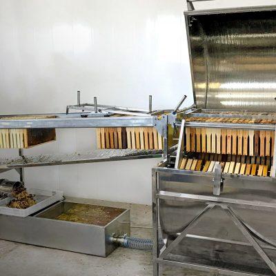 Автоматична лінія для відкачування меду «ПАВА»