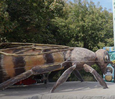 Пам'ятник бджолі став національним рекордом